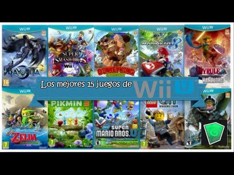 Top De Los Mejores 15 Juegos De Wii U Parte 1 Youtube