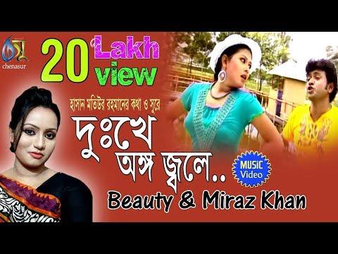 Dukkhe Ango Jole । Beauty | Miraz Khan । Bangla New Folk Song