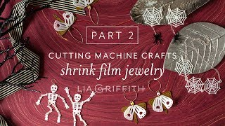 Part 2 of 2 | Halloween Crafts: Make Shrink Film Jewelry with Your Cricut Cutting Machine