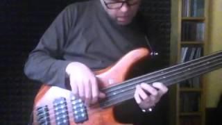 Sandberg Ken Taylor 5 string fretless  bass