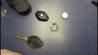 Wymiana Baterii W Kluczyku Bmw E46 E39