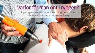 Varför får man ont i ryggen? Svenskt innovationsbolag söker nya svar!