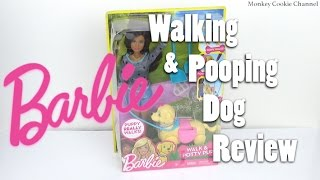 Barbie Walk & Potty Pup