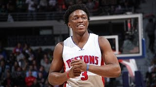 Stanley johnson 2016-2017 nba season highlights