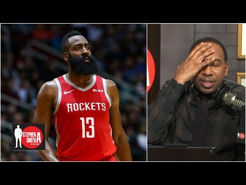 Stephen A. blows up on caller for James Harden question | Stephen A. Smith Show