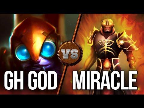 9k Miracle- [Ember Spirit] vs. 9k gh [Tinker] - INTENSE Dota 2 Liquid Battle