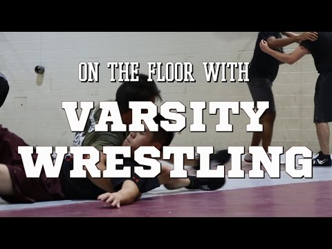 On the Floor With McMaster Varsity Wrestling