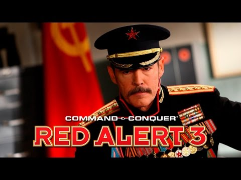 C&C Red Alert 3 + Uprising Movie Allied Soviet Campaigns All Cutscenes