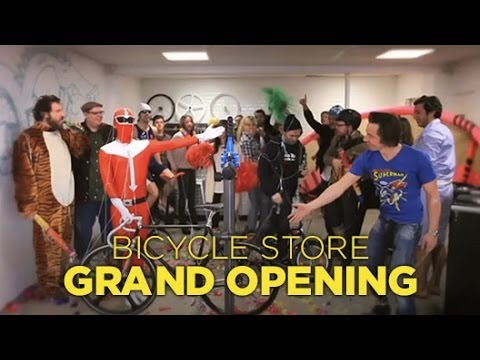 Bicycle Store Grand Opening