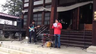 小布施町玄照寺境内アートにで、門脇篤氏と宮沢真氏が演奏。 10年ほど...