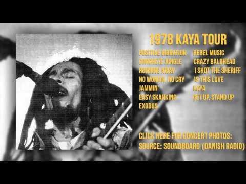 Bob Marley - Roskilde Festival 07/01/78 (SBD - Danish Radio)