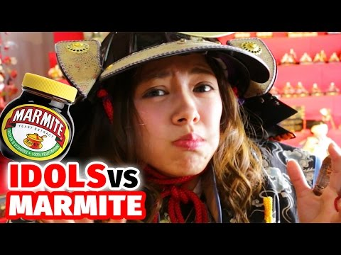 Japanese Idol Girls Ruined by Marmite & Liqourice