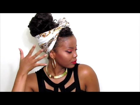 Crochet Braids And A Scarf IDK JUST WATCH