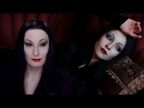 Morticia Makeup Transformation Tutorial | The Addams Family