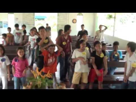 Leling alliance church:Youth Camp.Exercise