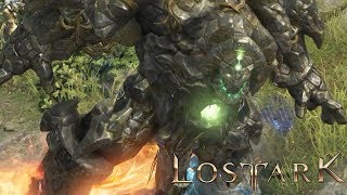 Lost ark tortoyk field boss caspiel the golem - cbt2
