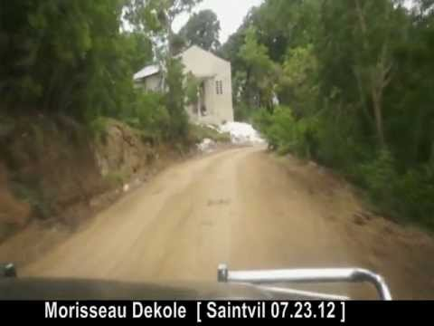 Route Morisseau  (8.23.2012) ~ Saintvil video