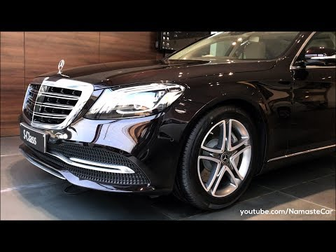 Mercedes-Benz S-Class S 450 W222 2018 | Real-life review