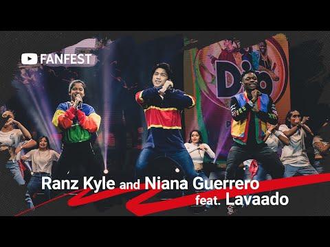 Ranz Kyle and Niana Guerrero feat. Lavaado @ YouTube FanFest Manila 2019
