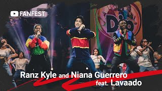 Ranz Kyle and Niana Guerrero feat. Lavaado @ YouTube FanFest Manila 2019