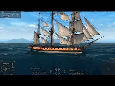 Naval Action - Testing - Endymion turning 360