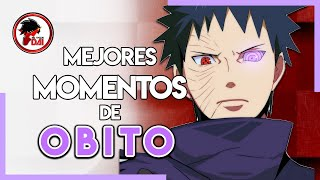 Naruto: Los MEJORES MOMENTOS de OBITO UCHIHA