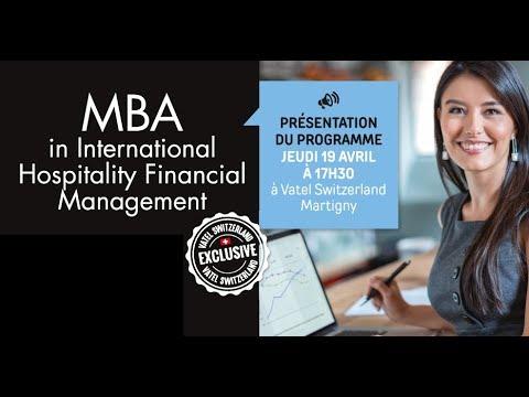 Presentation of the MBA Program