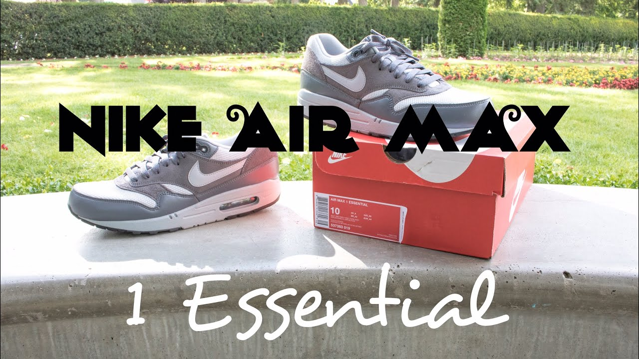 detailed look 57798 c37d7 ... discount code for wolf grey nike air max 1 essential review 5 outfits  af29b 0d5f1