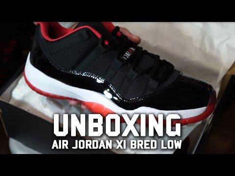 Air Jordan XI Low Bred Unboxing