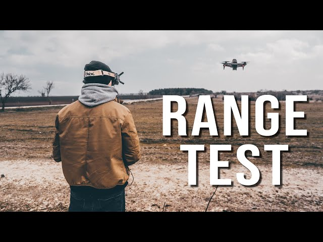 DJI FPV Range Test - How Much Before it FAILSAFES? (CE Mode)