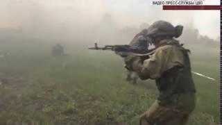 Под Самарой прошли учения миротворцев Центрального военного округа