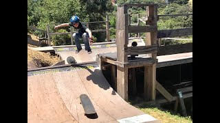 Board Transfer Tricks On The Ewok Ramp With Colin