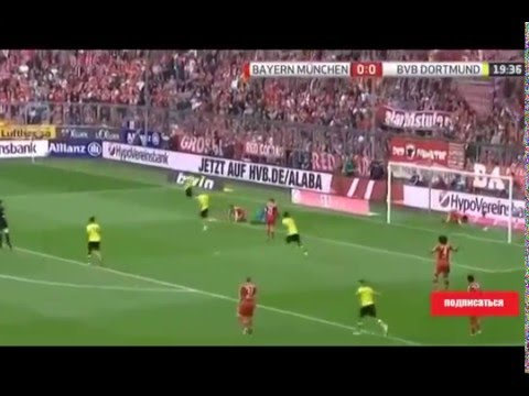 Henrikh Mkhitaryan GOAL Bayern Munich--Borussia Dortmund