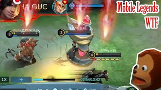 Mobile Legends WTF | Funny Moments 300IQ Gameplay