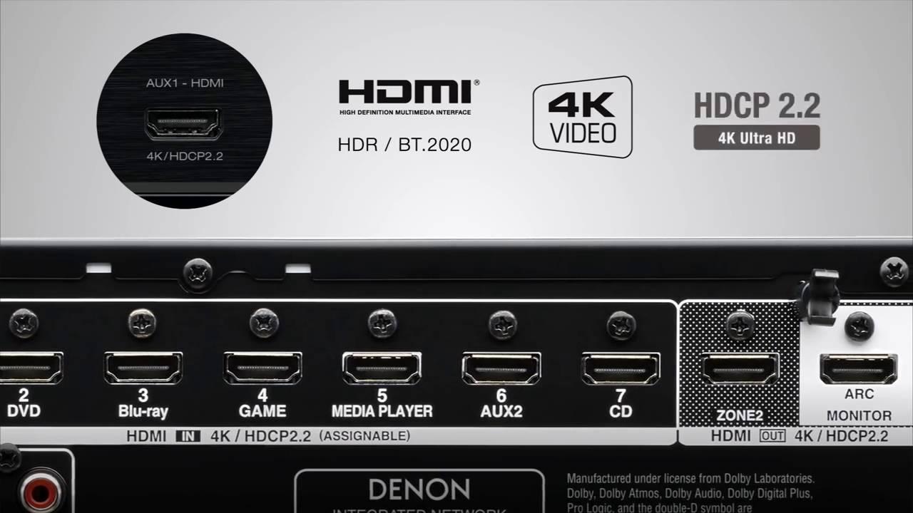 AV Denon AVR-X1300W Black