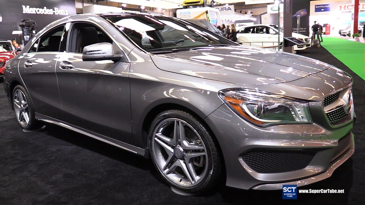 2016 mercedes benz cla class cla 250 4matic exterior interior walkaround 2016 montreal auto. Black Bedroom Furniture Sets. Home Design Ideas