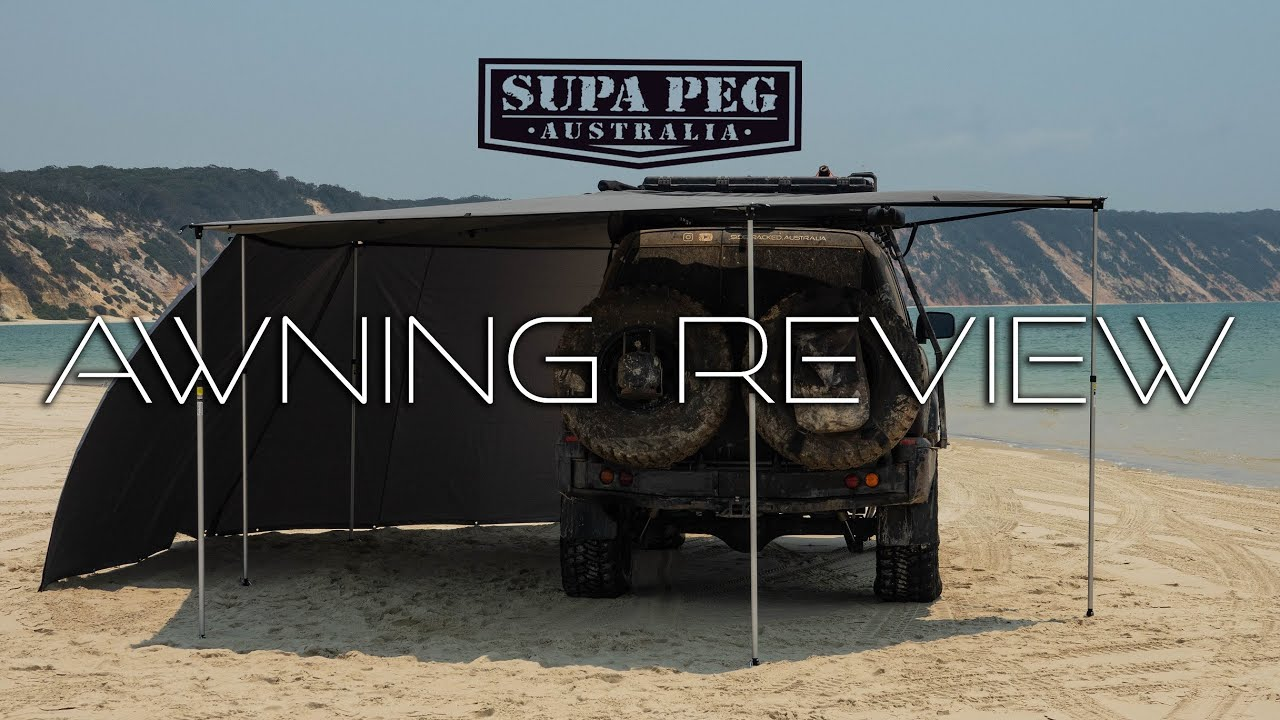 Supa Peg Rapid Wing 6 Delux Awning honest review - YouTube