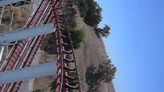 Viper Roller Coaster at Six Flags Magic Mountain Thumbnail