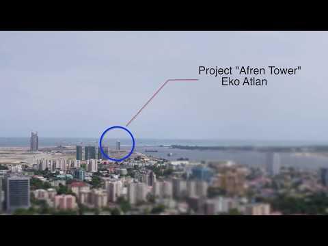 Afren Tower at EKO Atlantic Lagos Nigeria