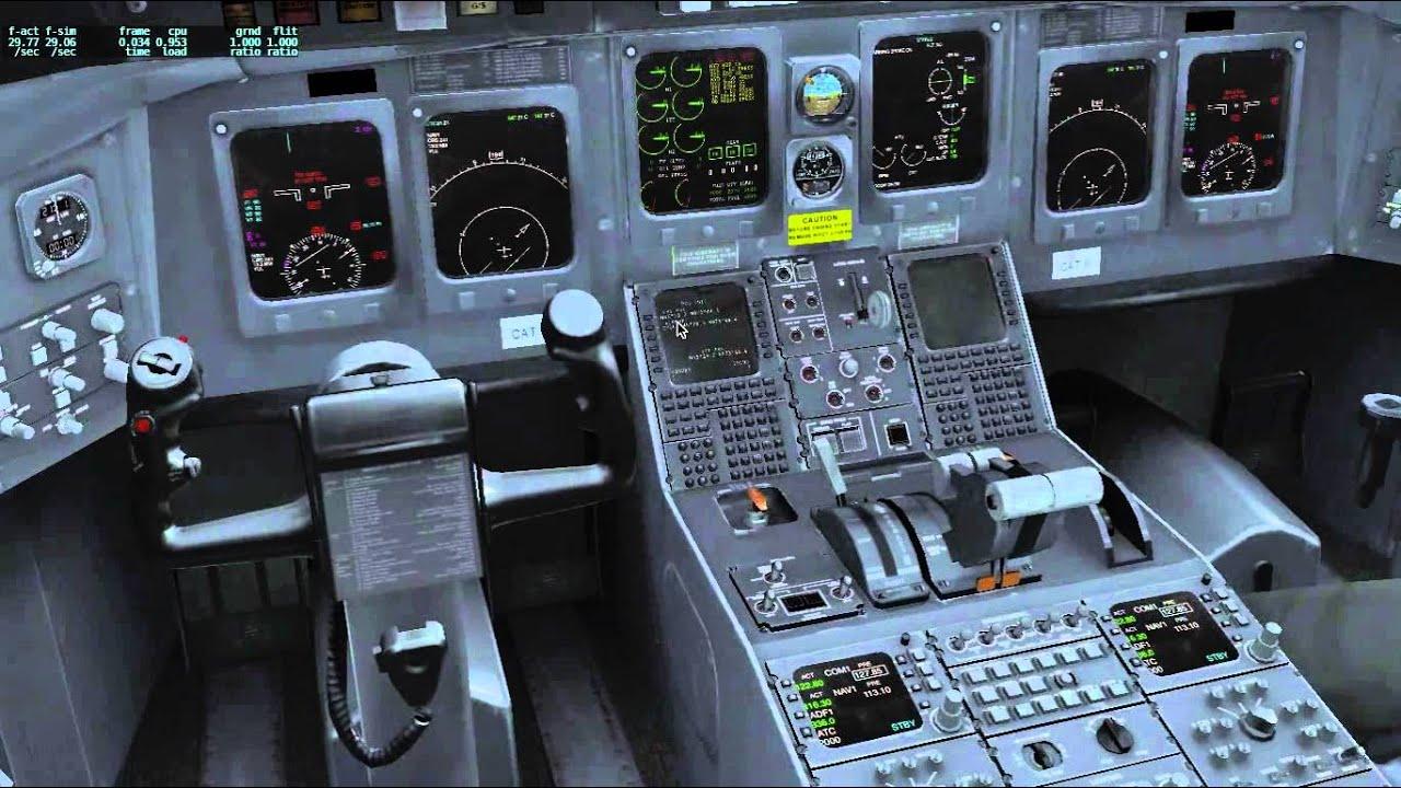 Tutorial : Quick Cold & Dark Start-Up CRJ-200