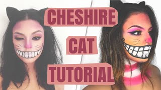 CHESHIRE CAT HALLOWEEN MAKEUP TUTORIAL | Carmen Ivette