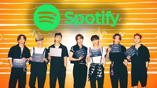 TOP 150 MOST STREAMED SONGS BY KPOP ACTS ON SPOTIFY OF ALL TIME | JULY 2021 - who is the #1 listened to artist on spotify
