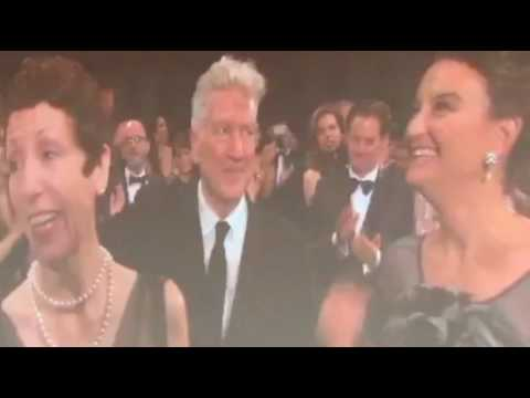 OVATION FOR DAVID LYNCH - CANNES 2017 - TWIN PEAKS