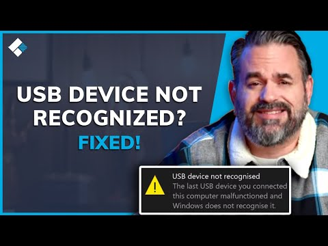 USB Device Not Recognized on Windows 10/7/8? Fixed Now!