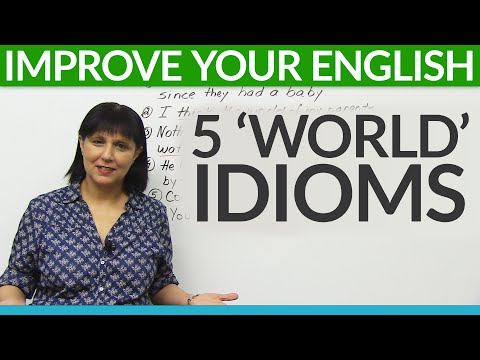 Learn English: 5 'WORLD' Idioms