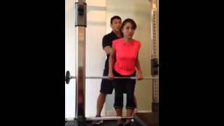 六本木GAJARAでトレーニング。 肘を固定して肩甲骨を寄せる!そこが重要...