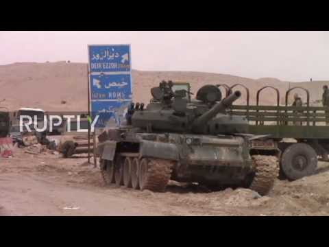 Syria: SAA liberate alleged IS HQ in former Qatari Royal Family mansion