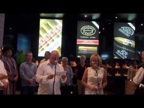 The opining of the Habanos Cigar Festival XVI Monday, February 24th,2014