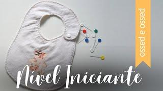 DIY: Babador de Bebê – BY Fê Atelier