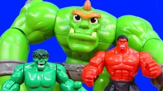Imaginext Hulk Smash Brothers 3 Tricked By Bane In Batman Suit Joker Reverse Flash Joker Fun House